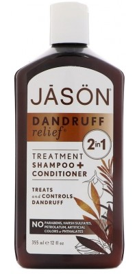 Dandruff Relief Shampoo + Conditioner 355 мл Jason Natural