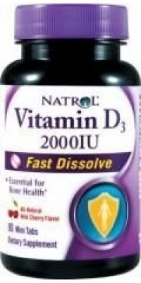 Витамин Д3 D-3 2000 Iu 90 таблеток Natrol