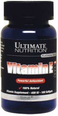 Vitamin E 100 капсул Ultimate Nutrition