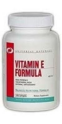 Vitamin E Formula 100 таблеток Universal Nutrition