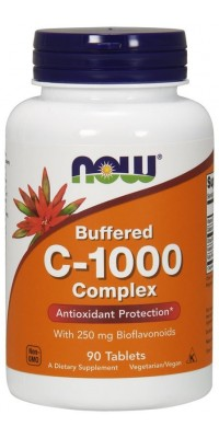 C-1000 Complex Buffered 180 таблеток Now