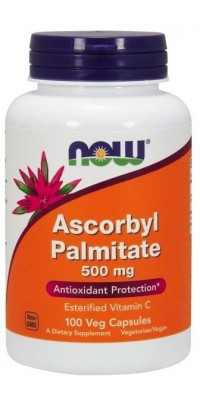 Ascorbyl Palmitate 500 мг 100 капсул Now