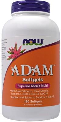 Adam Male Multi 180 гелевых капсул Now
