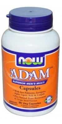Adam Male Multi 90 капсул Now