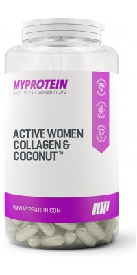 Active Women Collagen & Coconut 60 капсул MyProtein