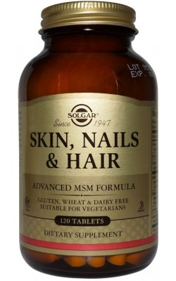 Skin, Nails & Hair, Advanced Msm Formula - купить за 1820