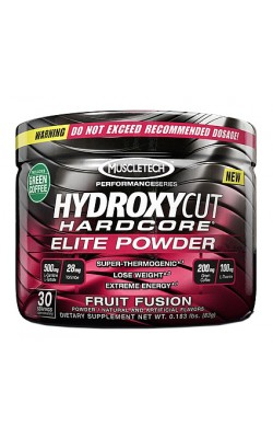 MT Hydroxycut Hardcore Elite Powder - купить за 570