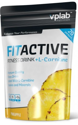 VPLab FitActive Fitness Drink + L-Carnitine 500 г - купить за 1020